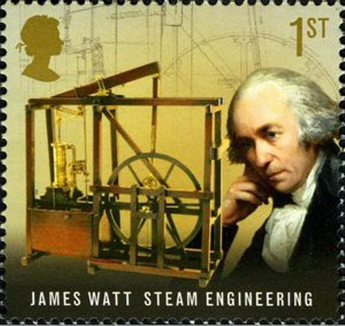 James Watt  Steam