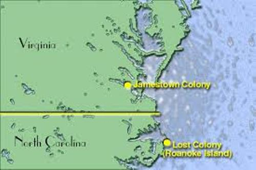 Jamestown Map