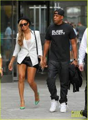 Jay-Z  And Wife