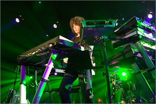 Jean Michel Jarre Performs
