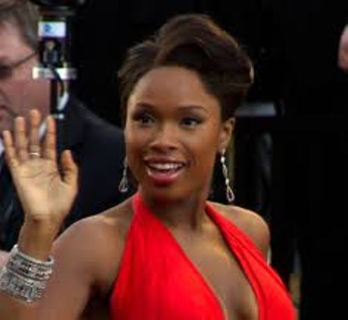 Jennifer Hudson Red