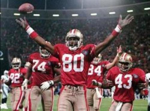 Jerry Rice Wins