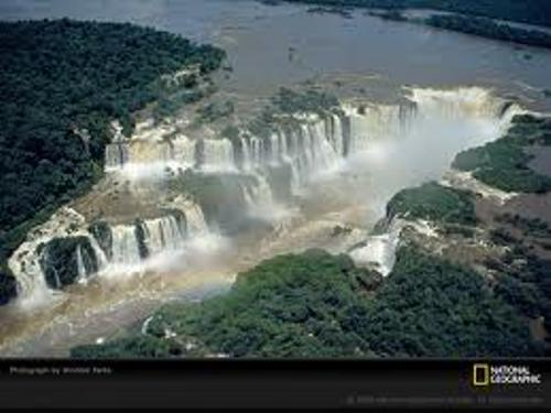 iguazu falls beauty