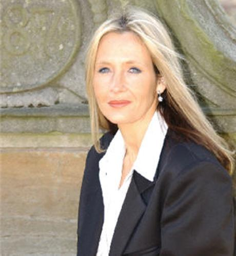JK Rowling  Long Hair