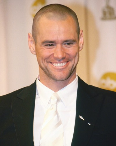 Jim Carrey Bald