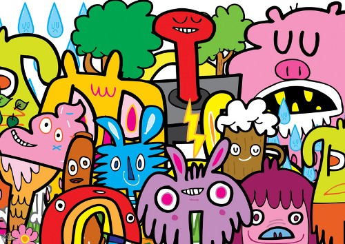 Jon Burgerman Illustration