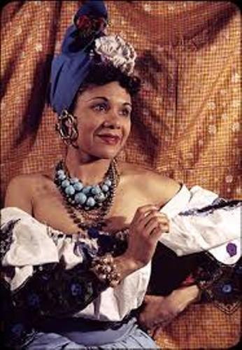 Katherine Dunham in Color