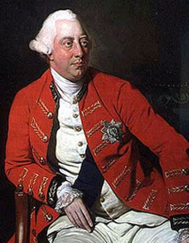 King George III Image