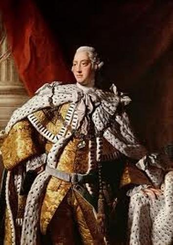 King George III  facts