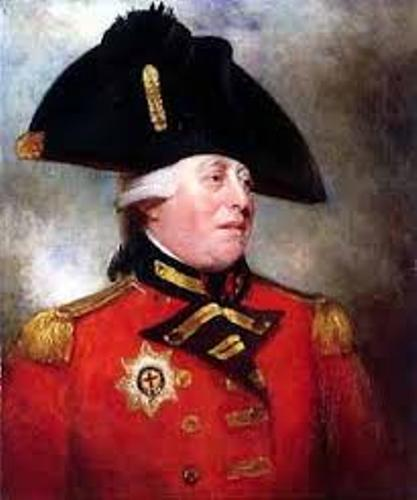 King George III with Hat