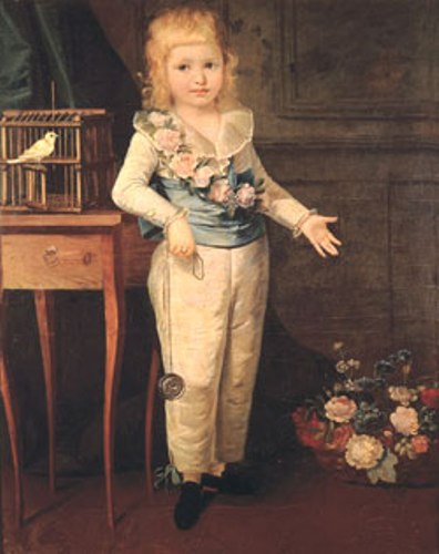 King Louis XVI as Kid