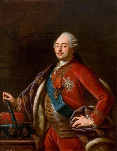 King Louis XVI in Red