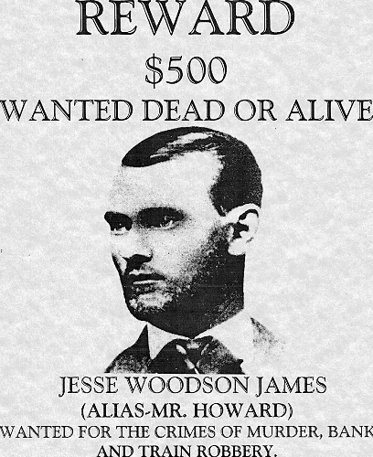 jesse james outlaw