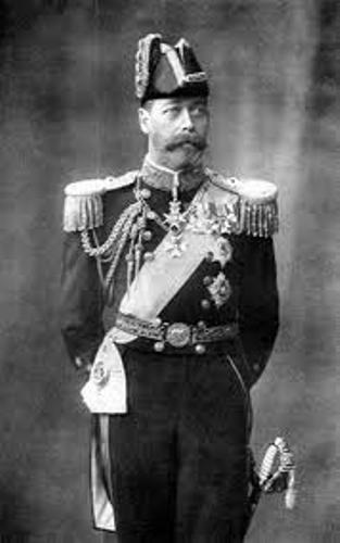 king george v image