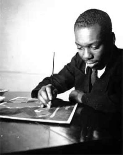 Jacob Lawrence Image