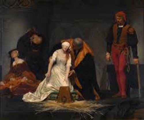 Lady Jane Grey Execution