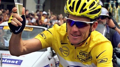 Lance Armstrong Cylist