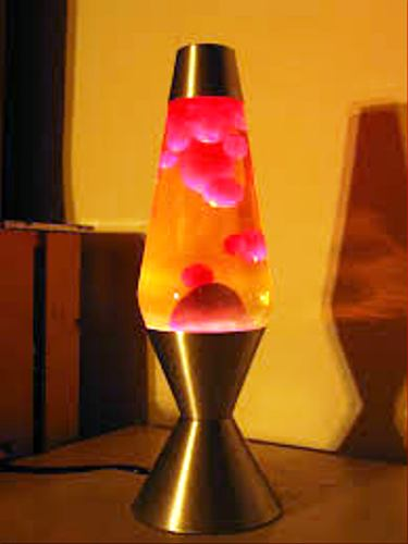 Lava Lamp Red