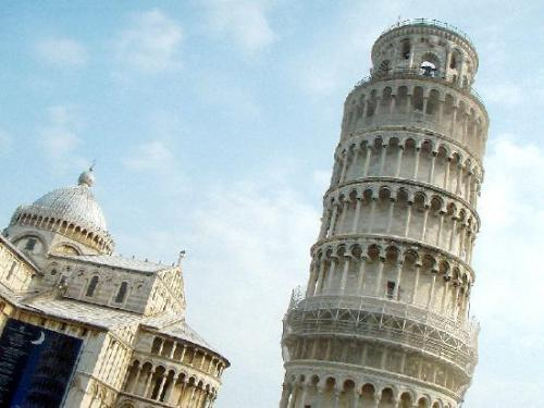 Leaning Tower of Pisa Image