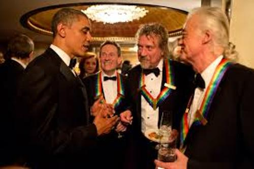 Led Zeppelin and Obama