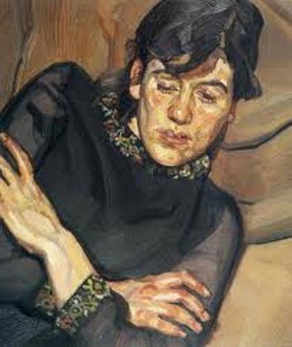 Lucian Freud Painting