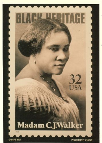 Madam CJ Walker Stamp