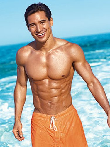 Mario Lopez Body