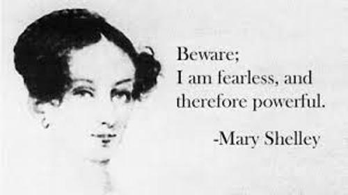 Mary Shelley Quote