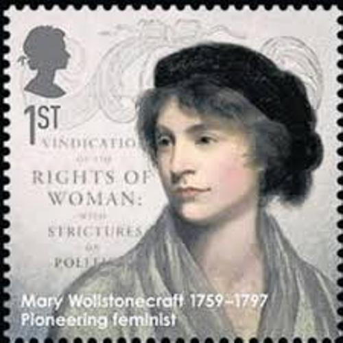 Mary Wollstonecraft Stamp