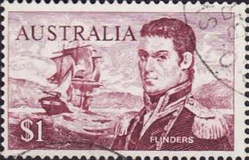 Matthew Flinders Stamp