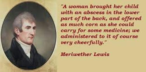 Meriwether Lewis quote