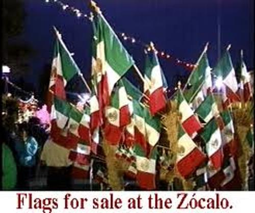 Mexican Independence Day Flags