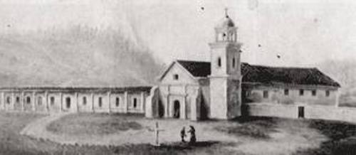 Mission Santa Cruz Old Pic