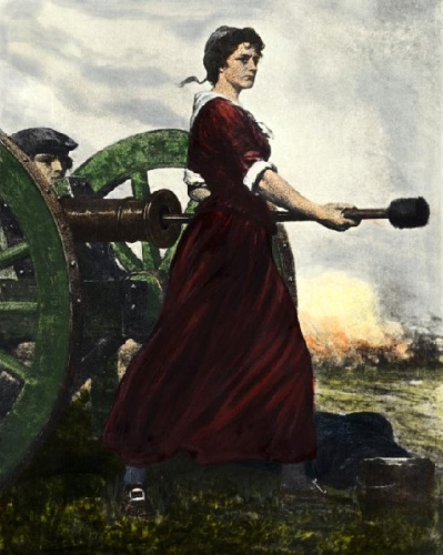Molly Pitcher Hero