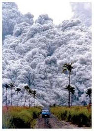 Mount Pinatubo Explotion