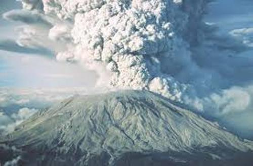 Mount Saint Helens Explotion