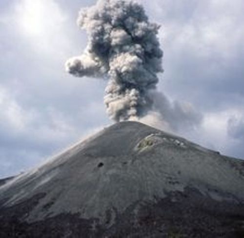 Mount Tambora Eruption