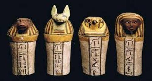 Mummification Canopic Jars
