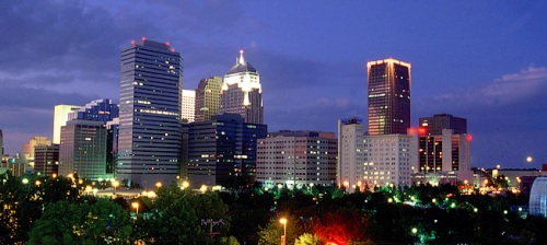 Oklahoma City at Night