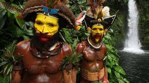 Papua New Guine tribes