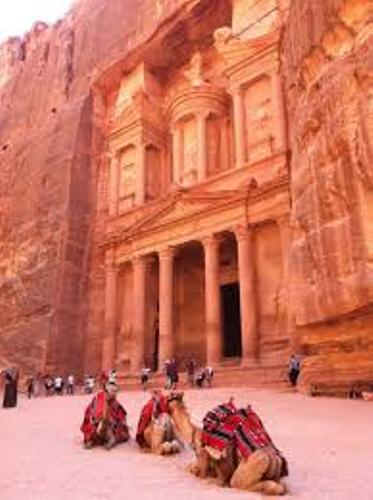 Petra Jordan Visitors