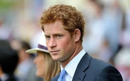 Prince Harry Formal Affair
