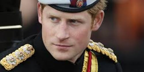 Prince Harry Military