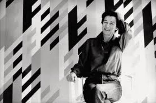 Bridget Riley Portrait