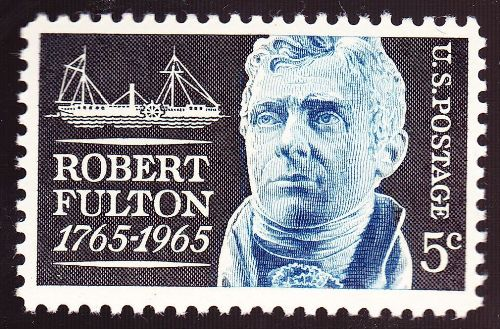 Robert Fulton Stamp