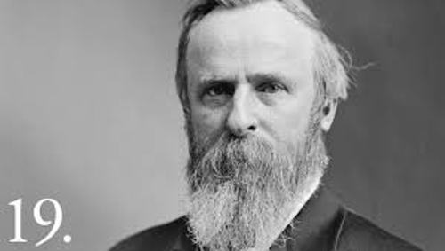 Rutherford B Hayes Facts