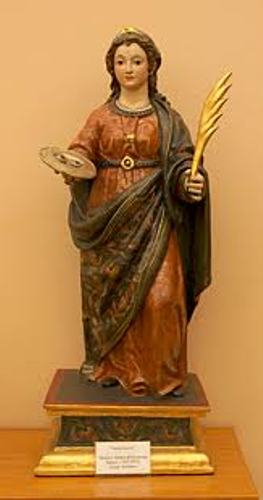 Saint Lucy Statue