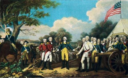 Battle of Saratoga Image