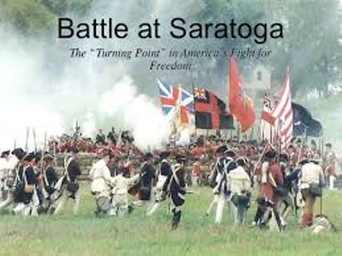 Battle of Saratoga Picture