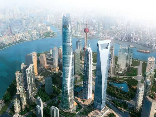 Shanghai Tower Height